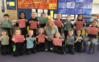 Beeswax Wraps Take Over Schools!