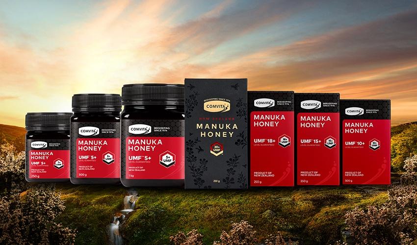 Comvita Manuka Honey premium new look