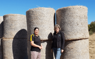 OLA Donates Hay To Drought Affected Farmers