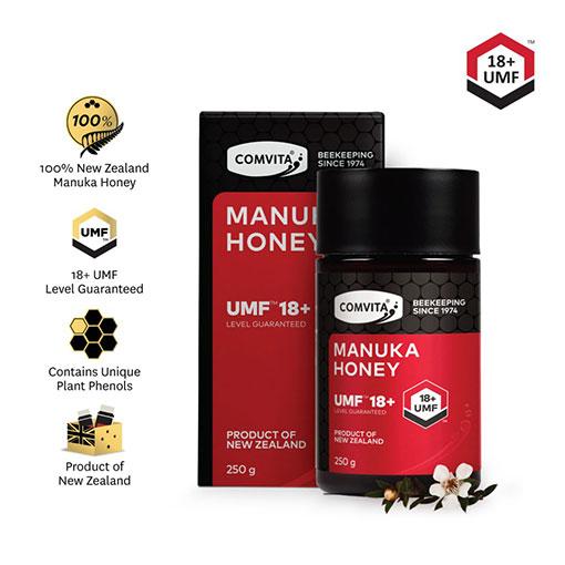 Comvita Manuka Honey UMF 18+ and benefits